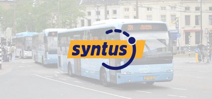 Syntus start in januari met kaartje kopen via app voor bus en trein