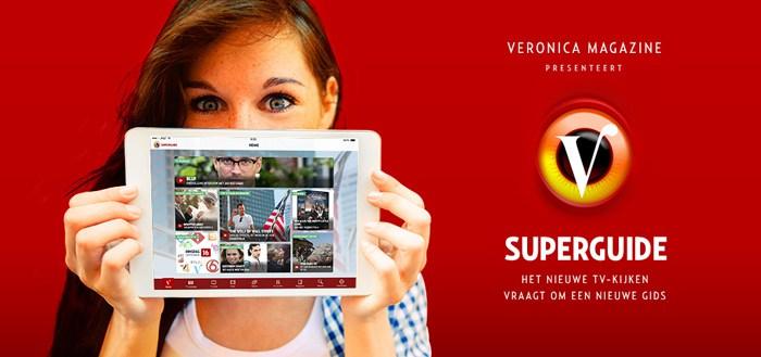 Veronica Superguide App: TV-Gids die zich aan jou aanpast