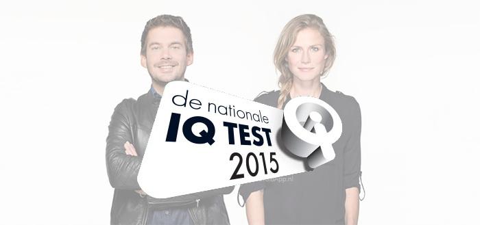 Nationale IQ Test 2015 vanavond te spelen via smartphone