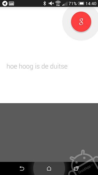 Google Now Nederlands