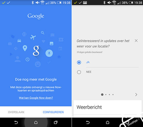 Google Now Material