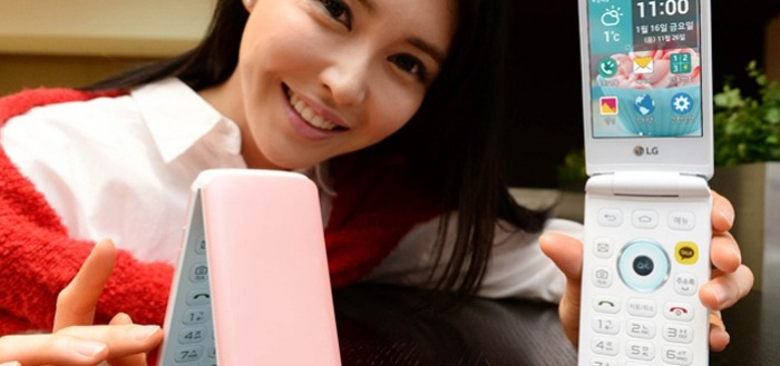 LG Ice Cream Smart: clamshell smartphone met Android