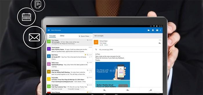 Microsoft Outlook uitgebracht voor Android