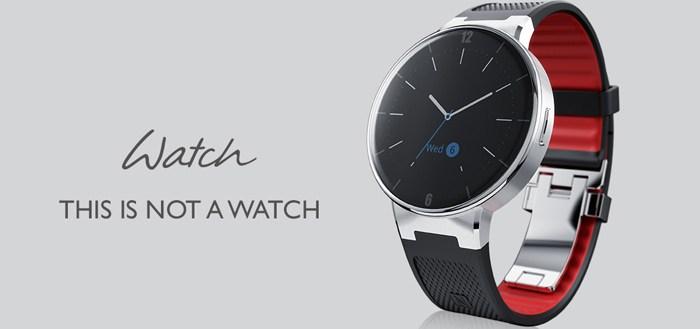 Alcatel OneTouch Watch aangekondigd: met Android, zonder Wear