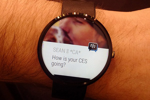 Android Wear - BBM