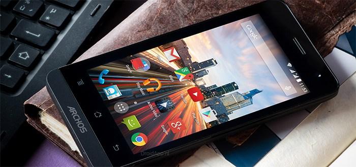 Archos 45b Helium: 4G-smartphone in aanbieding bij Kruidvat