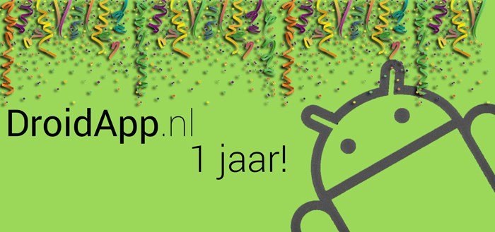 DroidApp bestaat 1 jaar! Help ons verbeteren!
