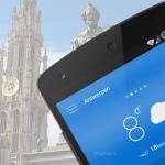 KMI België lanceert compleet vernieuwde weer-app