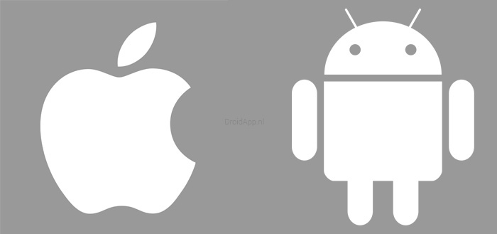 'Android 5.0 Lollipop is stabieler dan Apple iOS 8'