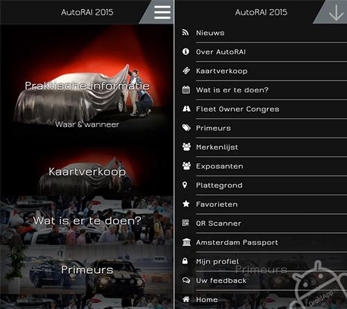 AutoRAI app 2015