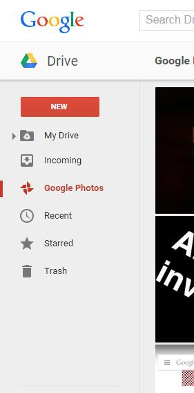 Google+ foto's drive