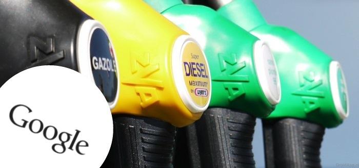 Google Now gaat tankstations weergeven