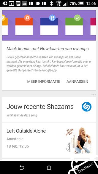 Google Now derden