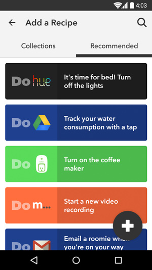 IFTTT Do button