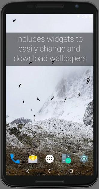 smart weather wallpaper