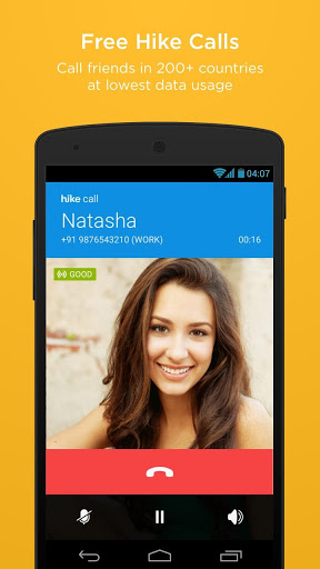 Hike messenger call