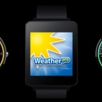 WeatherPro 4.1 update met Android Wear watchfaces