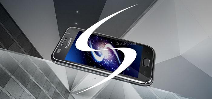 Infographic: de interface van de Samsung Galaxy door de jaren heen