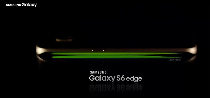Samsung Galaxy S6 Edge: Marshmallow vergroot mogelijkheden Edge Screen