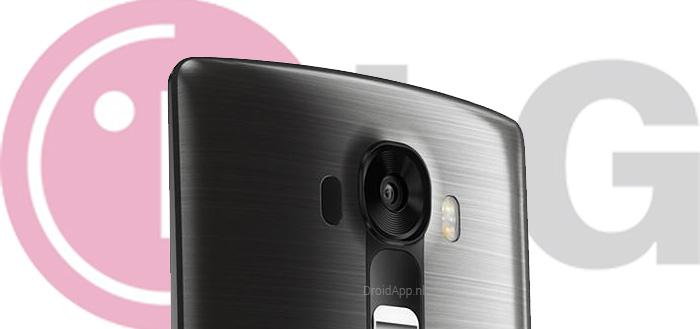 LG G4: achterzijde van strak vormgegeven toestel uitgelekt