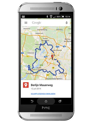 Google Maps Mijn Kaarten