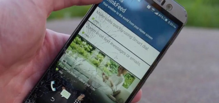 Video: HTC One M9 drop-test