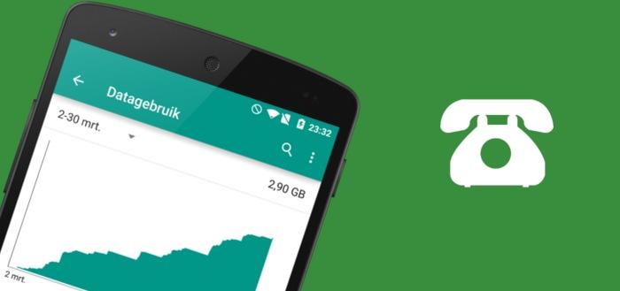 Zoveel data verbruiken belfuncties WhatsApp, Viber, Skype en Hangouts