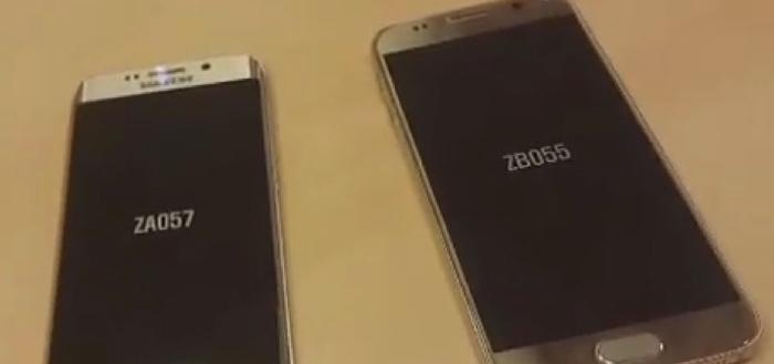 Samsung Galaxy S6 en Galaxy S6 Edge te zien in hands-on