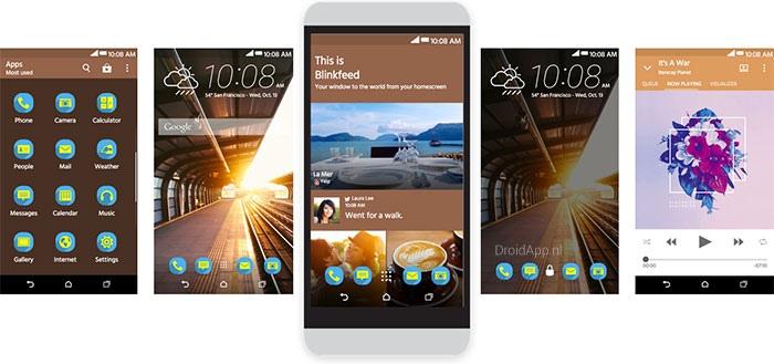 HTC Sense Home: gepersonaliseerde thema's voor One M8 [update: ook voor One M7]