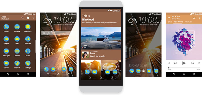 HTC Themes laat je eigen thema's samenstellen via website
