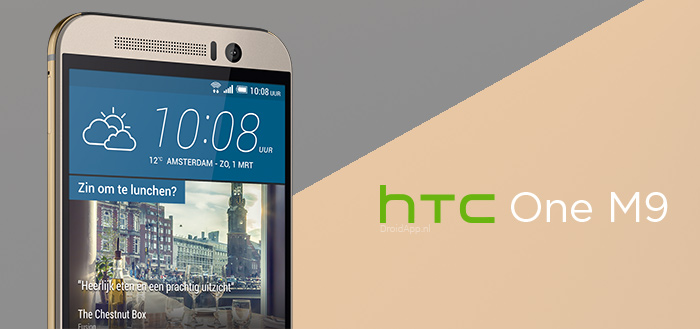 'HTC One M9 krijgt Android 8.0 Oreo update in maart'