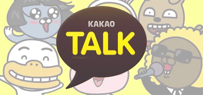 KakaoTalk gaat Telegram achterna met update