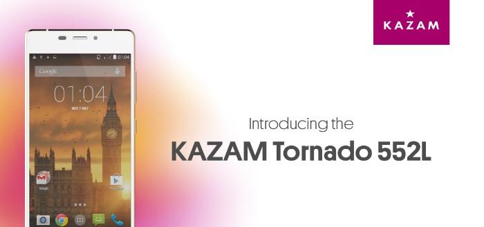 Kazam lanceert superdunne Tornado 552L