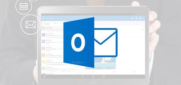 Outlook: Android-app geüpdatet naar versie 1.1
