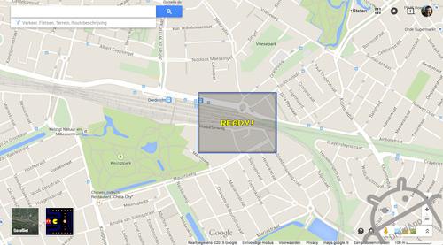 Pacman Google Maps