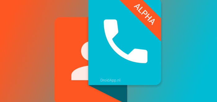 Ready: zeer strakke dialer in Material Design (preview)