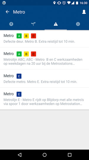 RET Real Time App Rotterdam
