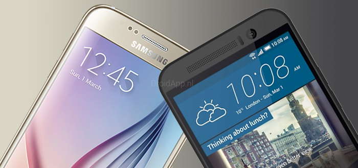 HTC One M9 vs. Samsung Galaxy S6: de verschillen