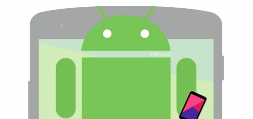 Smartphone Android header