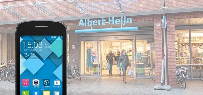 Alcatel Pop C1 smartphone in de aanbieding bij Albert Heijn