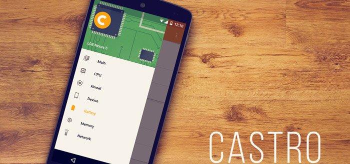 Castro: alle systeeminformatie in een strakke app
