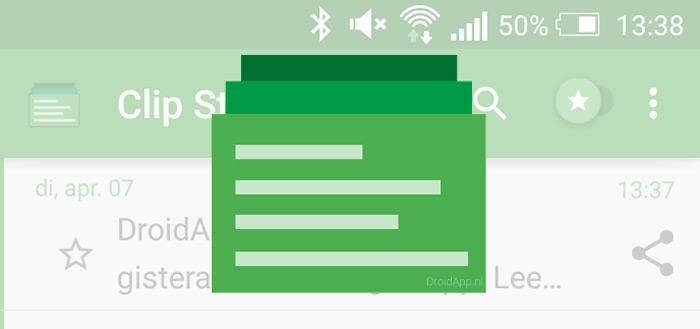 Clip Stack: een uitgebreid klembord