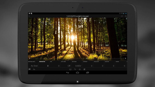 lightroom tablet