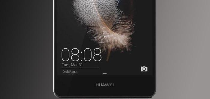 Huawei P8 Lite met strak design gelekt in 'officiële foto's'