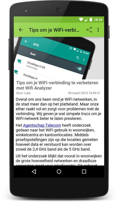 DroidApp App