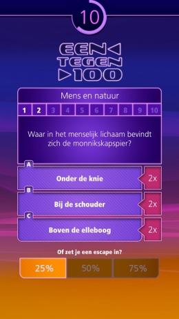 een-tegen-honderd-app