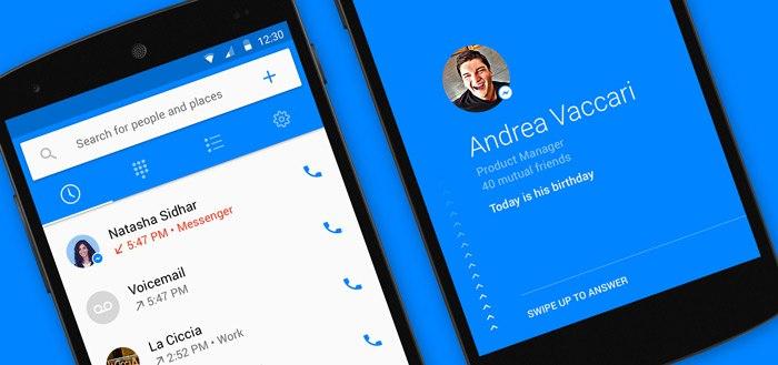 Facebook lanceert bel-app 'Facebook Hello' [update: APK]