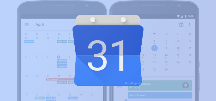 Google Agenda voegt 'Smart Event suggesties' en meer feestdagen toe