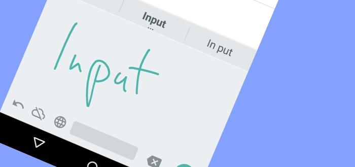 Google Handschriftinvoer: weg met het toetsenbord