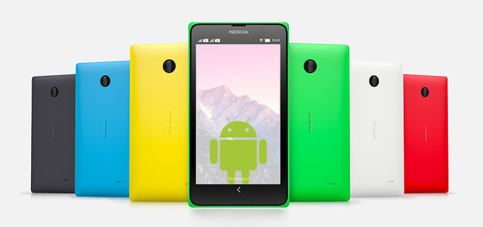 Nokia Android header